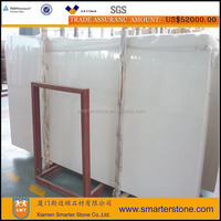 Sivec White marble jade for kitchen cabinet