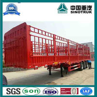 Hot Sale 2 3 Axles Flatbed