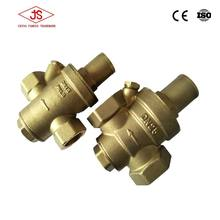 Brass Material and High Temperature Temperature of Media water pressure reducer