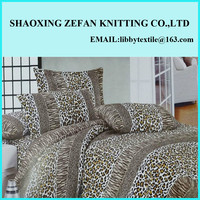 Animal Print micro fleece bedding set