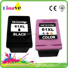 World Best Selling Products In USA Remanufactured Printers Compatible Ink Cartridge For HP 61 Cartridge Printer Ink Cartridges