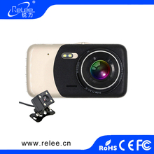 Professional front and rear view 2 camera motion detection full hd 1080p dual car Blackbox