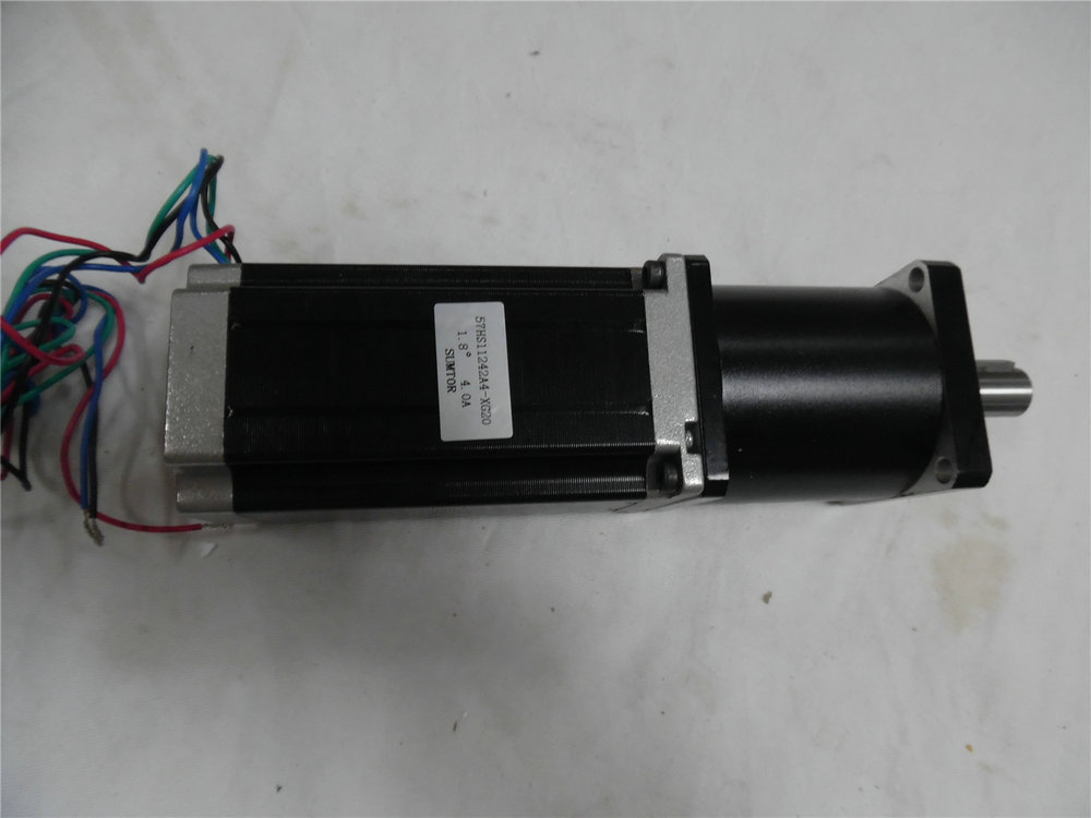 4.2A 3NM 429oz-in L 112mm nema 23 china planetary reducer stepper motor