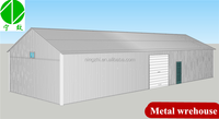 prefabricated construction warehouse building