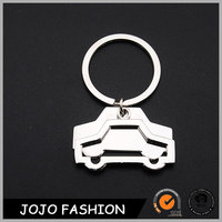 Marketing plan low price fiat car logo keychain products made in china