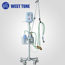 NLF-200D Neonatal ICU Ventilator with Bubble CPAP System for Newborn & Infant Baby Emergency Breathing in Hospital