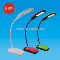 Hot sale flexible led desk lamp 6W power outlet hotel table lamps 2 years warranty
