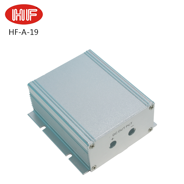 Wall mounted electronic aluminum extrusion profile enclosure