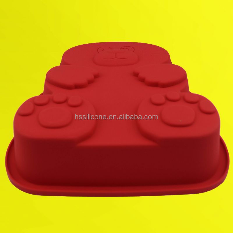 Nonstick and Flexible silicone cake molds for family microwave use