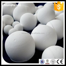 HUAZUN ceramic 92% Al2O3 activated alumina ball 40mm