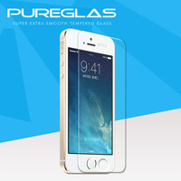Shenzhen manufacturer waterproof anti shock tempered glass screen protector for iphone 5s