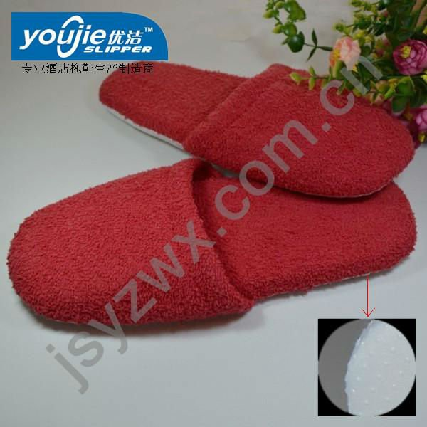 Hotel suave suela warm indoor slipper 2013