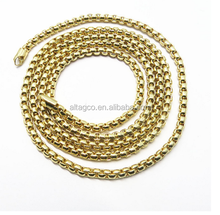 Fancy metal bag decorative twisted link chain for handbag with high quality