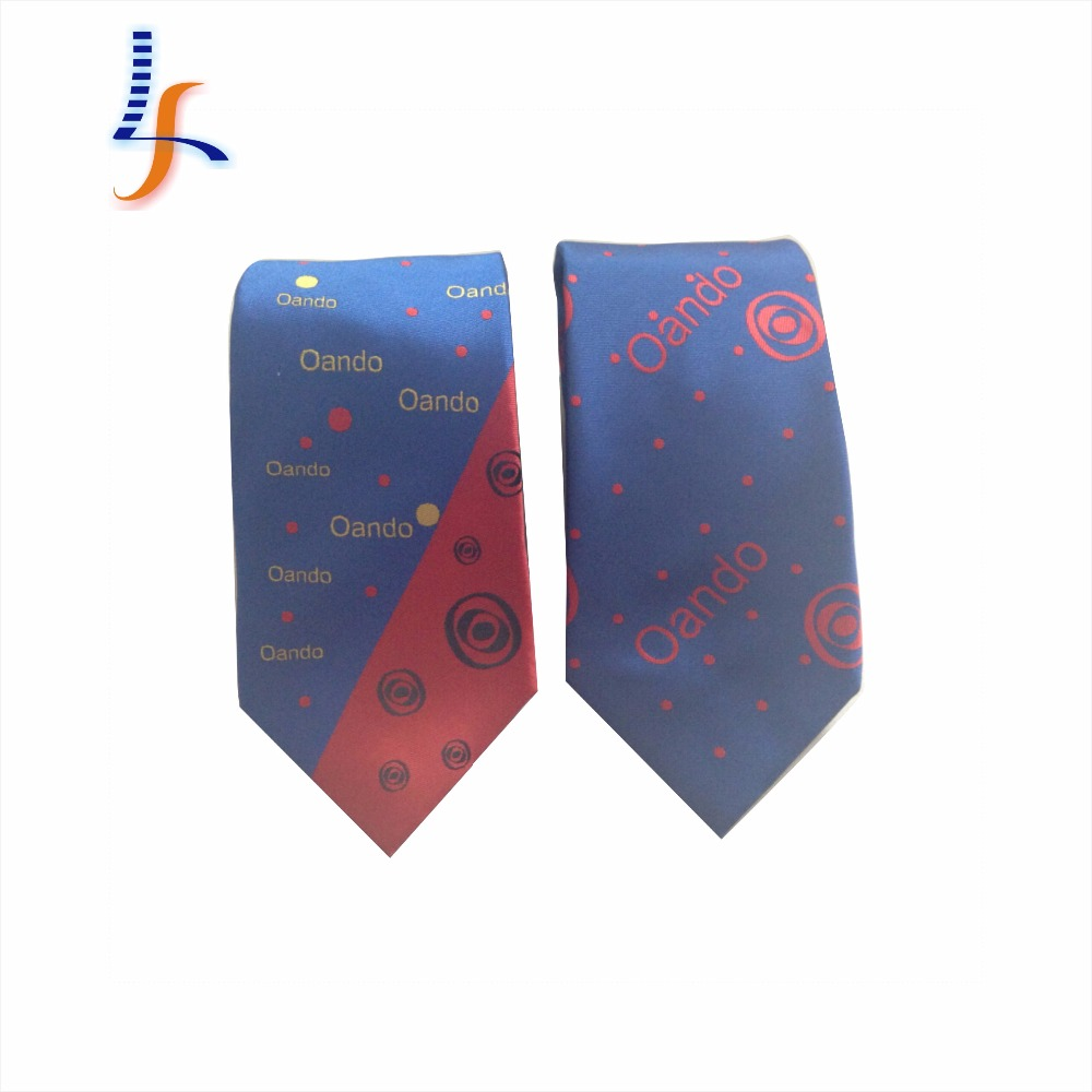 Customer custom logo hot sale cheap school uniform fabric <strong>tie</strong>