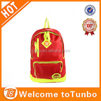 New PU children school bag korea pu leather backpack patent leather laptop bag