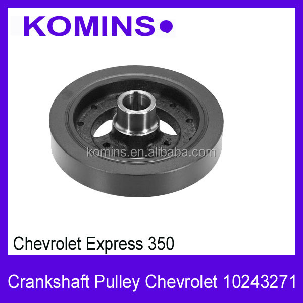 10243271 Chevrolet Harmonic balancer crankshaft pulley, Damper Pulley