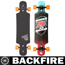 Backfire Beauty Longboard Drop through Complete Canadian maple Leading Manufacturer