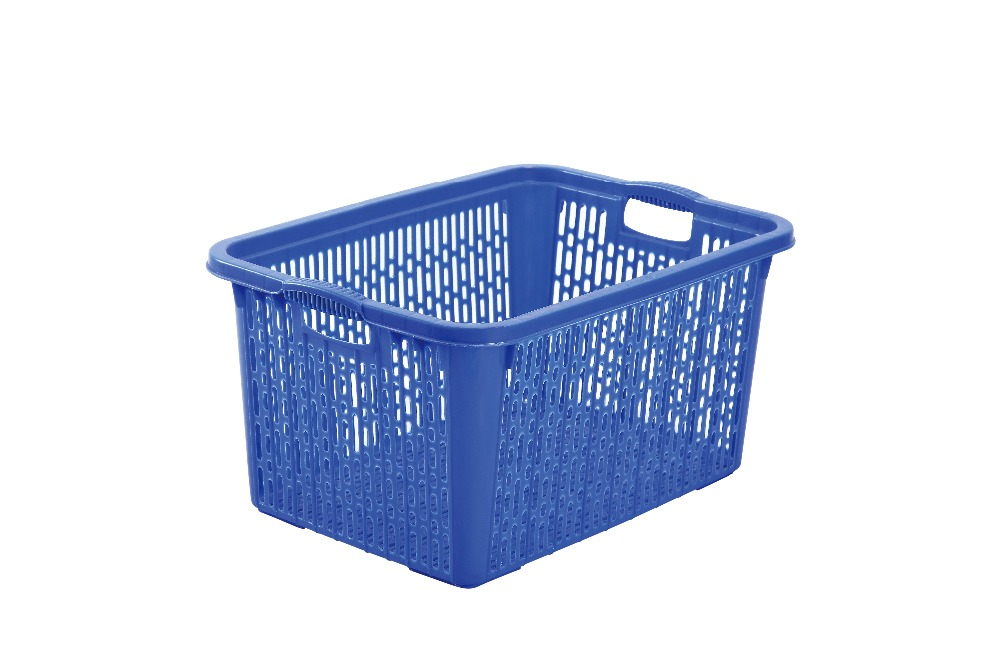 Stackable Plastic Basket For Vegetables And Fruits
