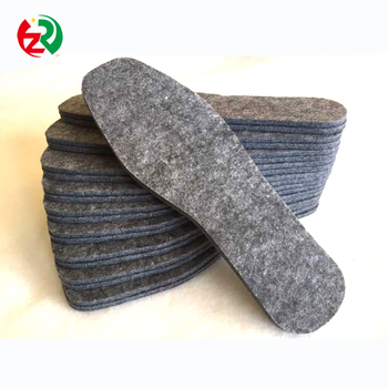 Alibaba hot sale 100% wool felt shoe insoles with lowest price