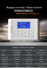 Spanish/French/German smart home automation system solution gsm wireless home security alarm system