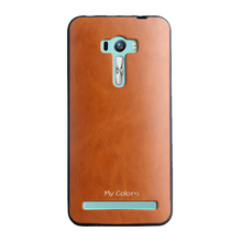 0.7mm My Colors Easy Colorful Fashion Leather TPU case For Asus Zenfone 3 Deluxe ZS570Kl 5 colors