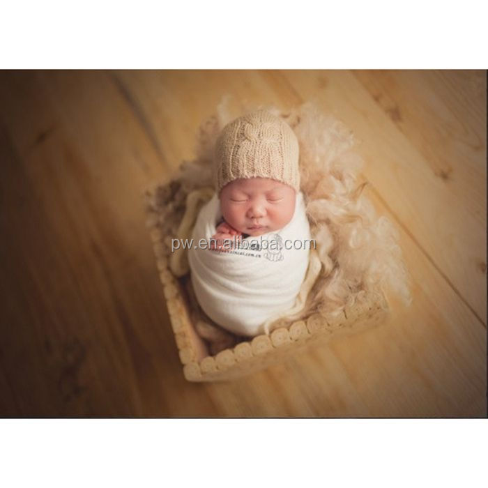 Jersey Wrap Newborn stretch knit wrap Photography props Baby swaddle blanket backdrop Posing layer fabric