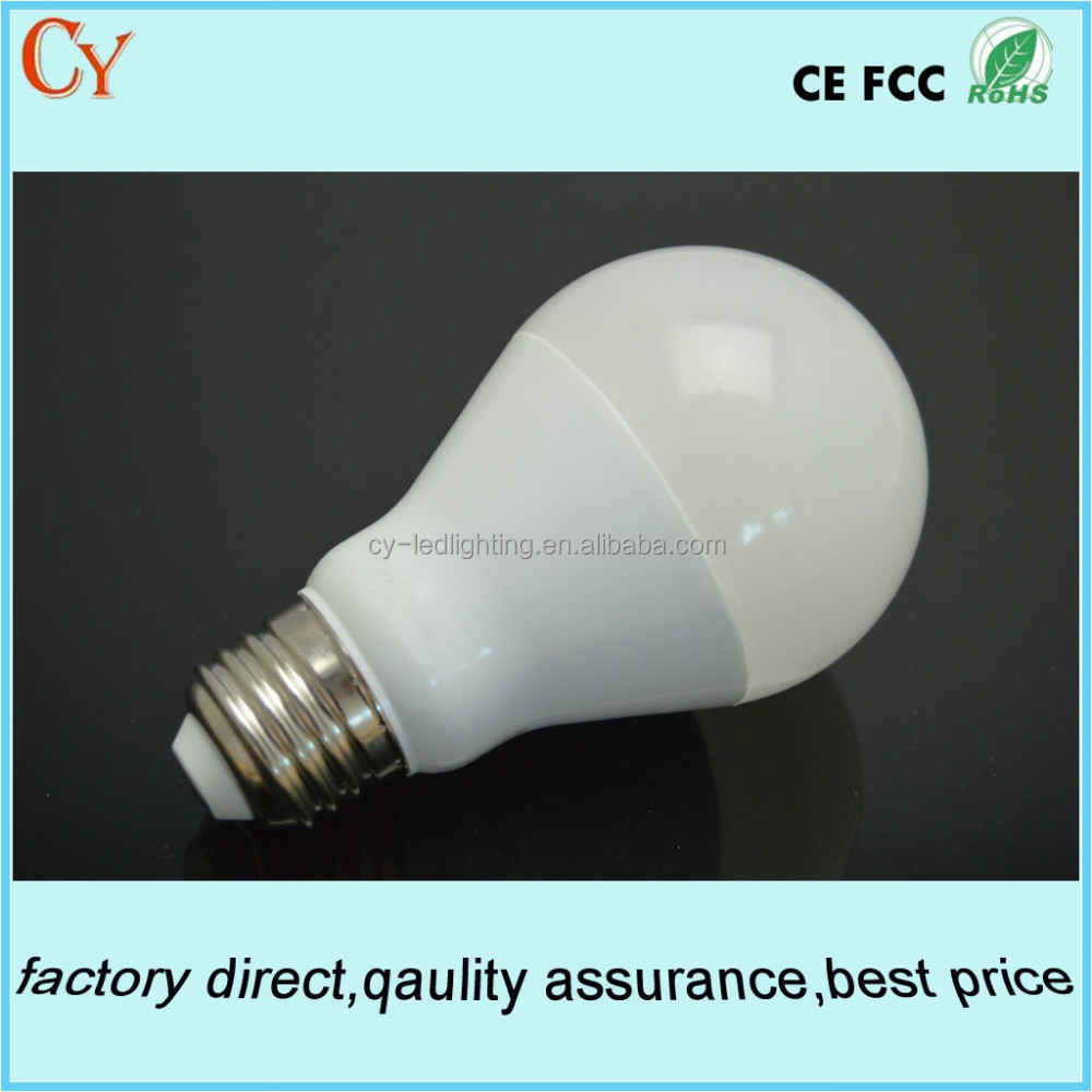 A60 e26e27 7W9W13W led bulb 80Ra SMD led bulbs plastic and aluminum bulb