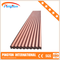 corrosion resistant Plastic PVC corrugated Roofing Sheet/light weight UPVC Roof Tiles