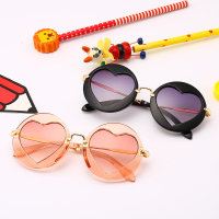 heart shaped sunglasses kids sunglasses(SWTAA4196)