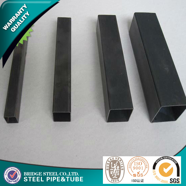 API steel pipe use for construction from TIanjin port hot sale black square tube