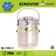 Double wall high quality stainless steel tiffin pot