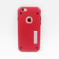 2016 new hollow out heat dissipation TPU PC hybrid phone case , mobile phone cover for iPhone