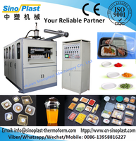 SPC-660C Water Drinking Cup Making Machine, food container forming machine