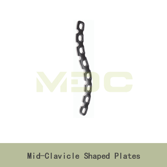 Mid-Clavicle Shaped Plates locking plate reconstruction plate orthopedic