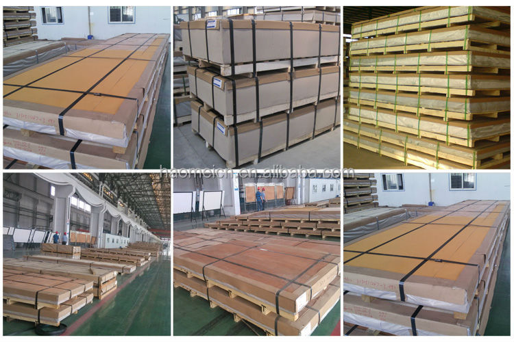 Manufacturer supply aluminum alloy plate for marine with high quality