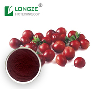 Anti-oxident Dried Cranberry Fruit Powder Extract Proanthocynidins 5--60%