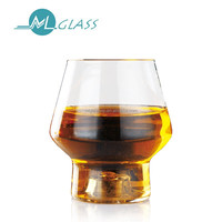 200ml high borosilicate heat resistant wine glass cup with led light N6440