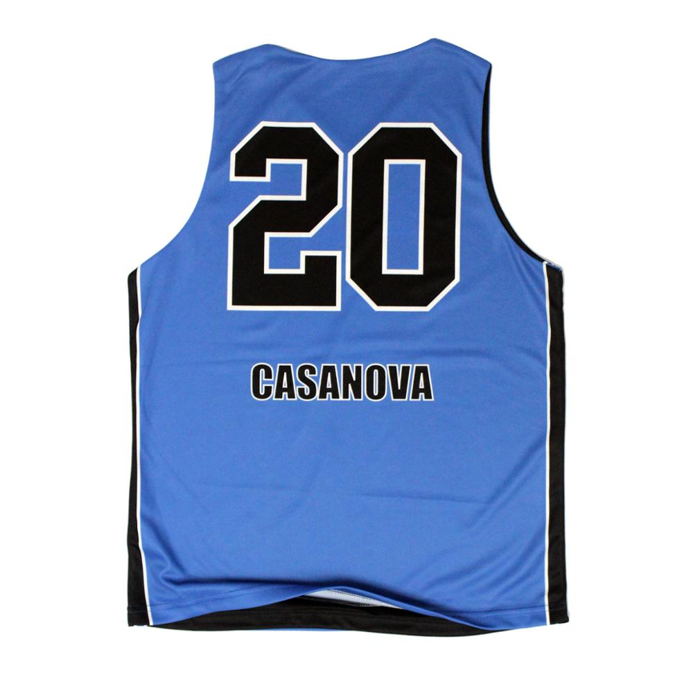 Cool Simple Designs Sky Blue Youth Basketball Shirt Jersey