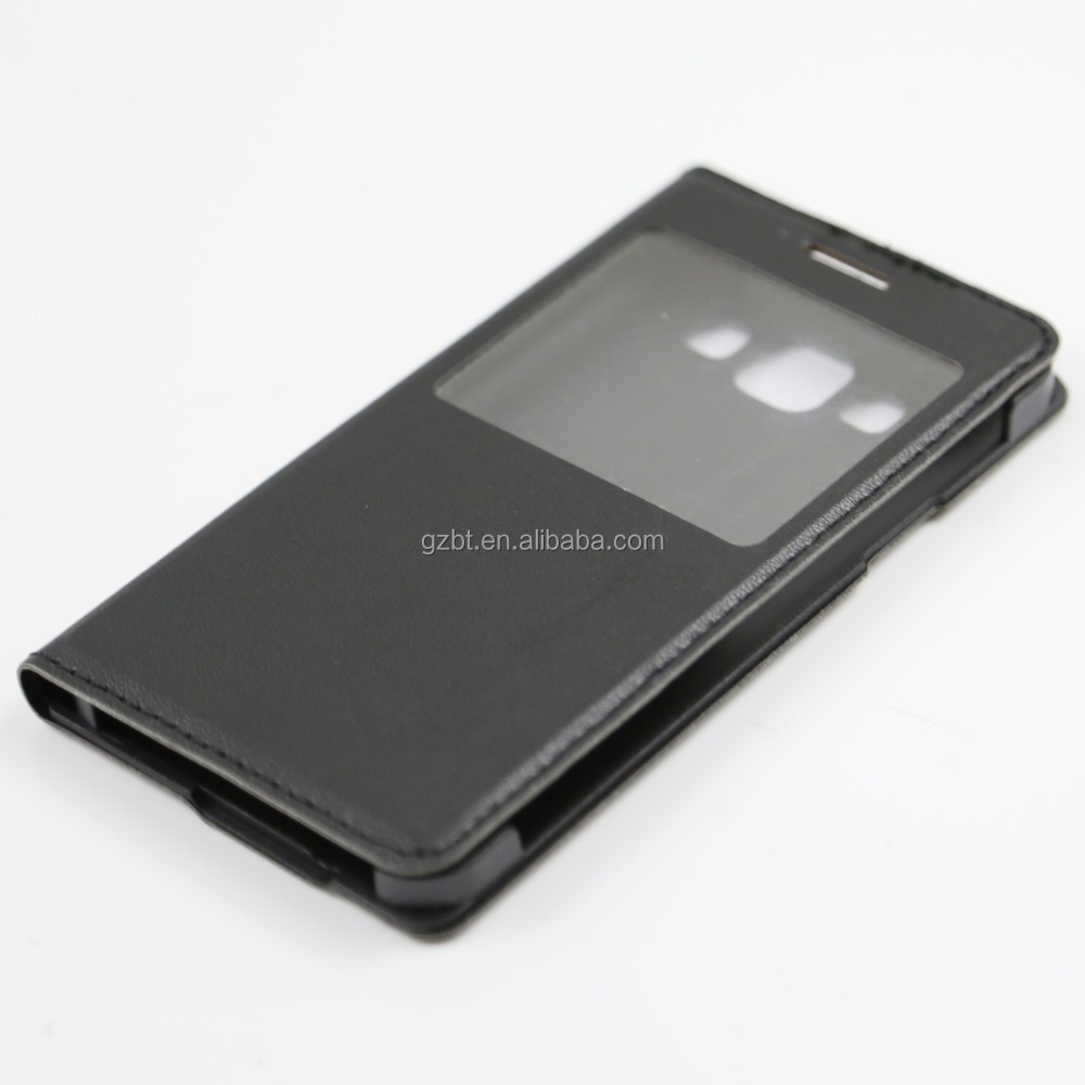Factory Price PU Leather +PC Window Case For Asus Zenfone Pegasus 3