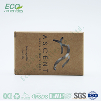 luxury Boxed bamboo vinegar soap is hotel soap
