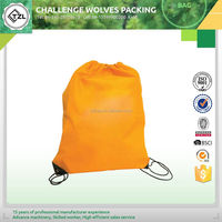 Cotton drawstring bag for promotion
