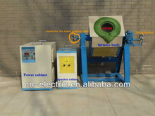 Medium Frequency Induction Coreless 100kg Copper Melting Furnace