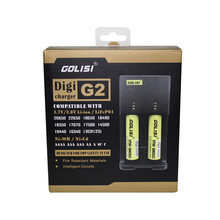 2017 newest Battery GOLISI charger G2 Digital Battery Charger in stock