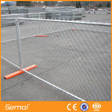 Cheap Galvanized Removable Chain Link Temporary Fence