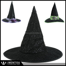 Wholesale Black Halloween Witch Hat