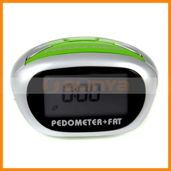 Full Function Digital Pouch Bag Portable Pedometer Calorie Meter