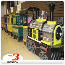 Indoor & outdoor funfair amusement rides for sale Thomas trackless train rides