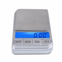 Portable jewelry scale electronic said 0.01g 0.1 grams scale tea balance mini gold medicine palm palm pocket scale 400g/0.01