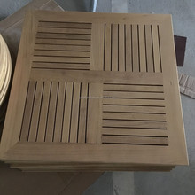 Hot sale cheap Restaurant Dinning Teak Wood Table Top