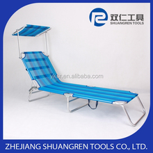 Branded useful folding beach bed sets with umbrella